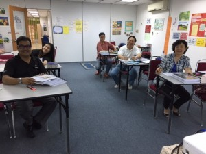 Comfortable, conducive and cheery TESOL  classroom.